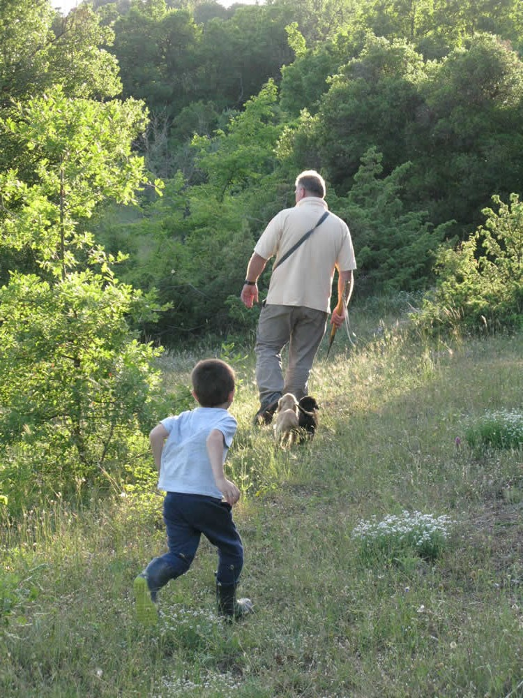 "Truffle hunting in the Zagori region of Ioannina is an activity that takes place all year round. It is a hunt that requires the ""learned"" assistance of our well trained dogs in combination with our experience of more than 10 years on the field!"